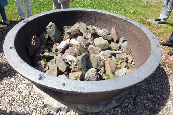 Eisenhaltige Steine
